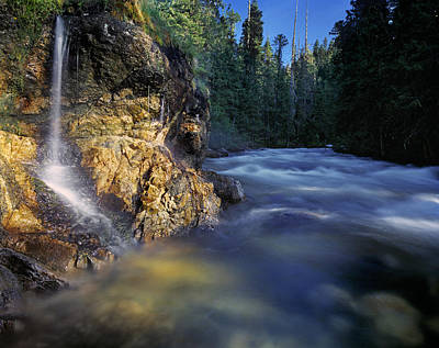 Scenic Photograph - Hot Springs by Leland D Howard