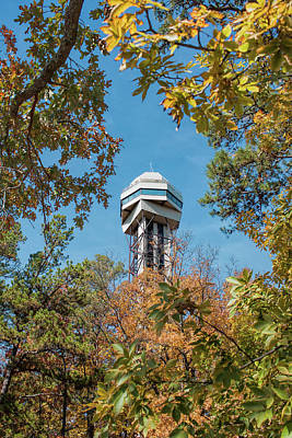 Photograph - Hot Springs Mountain Tower by John M Bailey