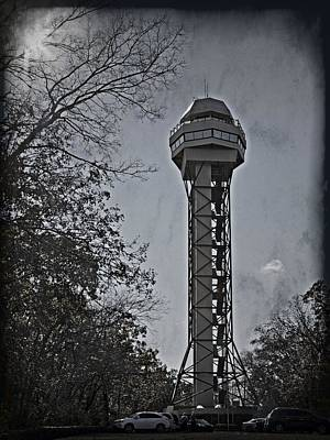 Photograph - Hot Springs Mountain Tower_2d by Walter Herrit