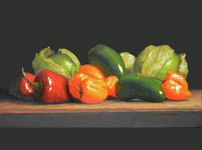Painting - Hot Stuff by Armand Cabrera
