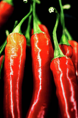 Food Photograph - Hot Stuff by The Art Of Marilyn Ridoutt-Greene