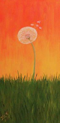 Painting - Hot Summer Dandy by Janet Greer Sammons
