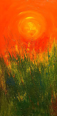 Painting - Hot Sun by Dorothy Maier