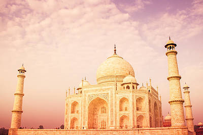 Historic Architecture Photograph - Hot Taj Mahal by Nila Newsom