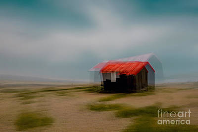Abstract Beach Landscape Photograph - Hot Tin Roof by Richard Thomas