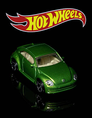Photograph - Hot Wheels 2012 Volkswagen Beetle by James Sage