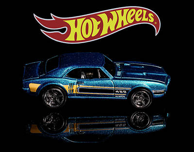 Photograph - Hot Wheels '67 Pontiac Firebird 400-1 by James Sage