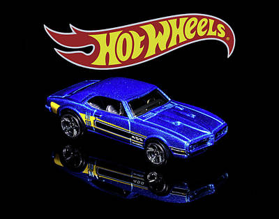 Photograph - Hot Wheels '67 Pontiac Firebird 400-2 by James Sage