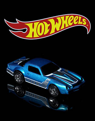 Photograph - Hot Wheels 67 Pontiac Firebird 400-3 by James Sage