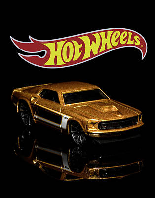 Photograph - Hot Wheels '69 Ford Mustang 2 by James Sage