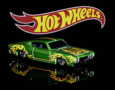 Photograph -  Hot Wheels '69 Ford Torino Talladega by James Sage