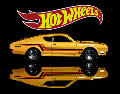 Photograph -  Hot Wheels '69 Mercury Cyclone by James Sage