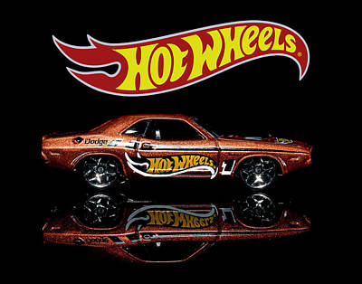 Photograph - Hot Wheels '70 Dodge Challenger by James Sage