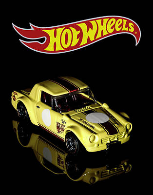 Photograph - Hot Wheels Datsun Fairlady 2000 by James Sage