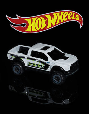 Photograph - Hot Wheels Ford F-150 Raptor by James Sage