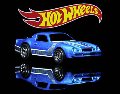 Photograph - Hot Wheels Gm Camaro Z28 by James Sage