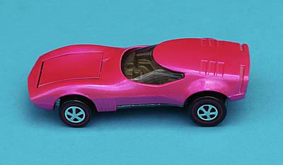 Hot Pink Custom Photograph - hot wheels Torero hotwheel by Bruce Roker