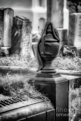 Photograph - Hotchkiss Tomb Urn - New Orleans by Kathleen K Parker