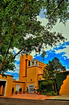 Photograph - Hotel Albuquerque In Old Town by David Patterson