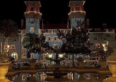 Hotel Alcazar Art Print by Kenneth Albin