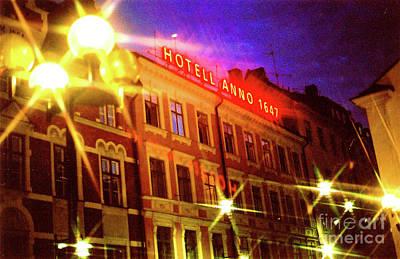 Photograph - Hotel Anno by Elizabeth Hoskinson
