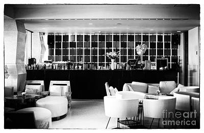Photograph - Hotel Bar by John Rizzuto