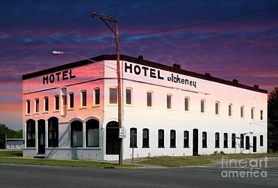 Photograph - Hotel Blakeney Pageland South Carolina Usa by Bob Pardue