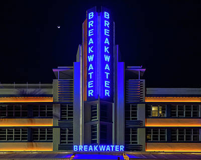 Photograph - Hotel Breakwater by Penny Meyers