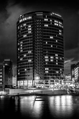 Photograph - Hotel By The Grand River by Randall Nyhof
