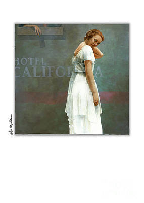 Painting - Hotel California by Will Bullas
