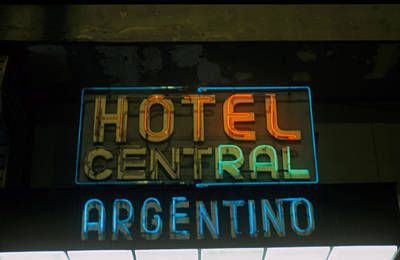 Hotel Central Argentino Art Print