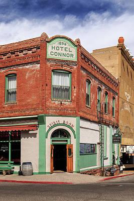 Jerome Arizona Photograph - Hotel Connor by James Eddy