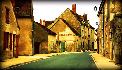 Photograph - Hotel De France by Susie Weaver