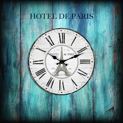 Photograph - Hotel De Paris by Philippe Sainte-Laudy