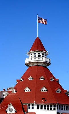 San Diego Photograph - Hotel Del Coronado by Christopher Woods