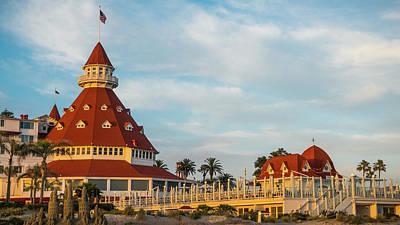 Photograph - Hotel Del Coronado San Diego California by Lawrence S Richardson Jr