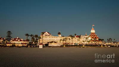 Photograph - Hotel Del Coronado Wearing Her Evening Pearls by David Levin