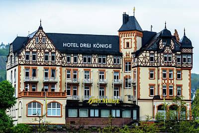 Hotel Drei Konige - Bernkastel-kues - Germany Print by Jon Berghoff