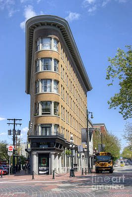 Photograph - Hotel Europe In Vancouver by David Birchall