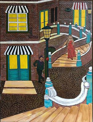 Destiny Painting - Hotel Fairlight by Stephen Harrelson