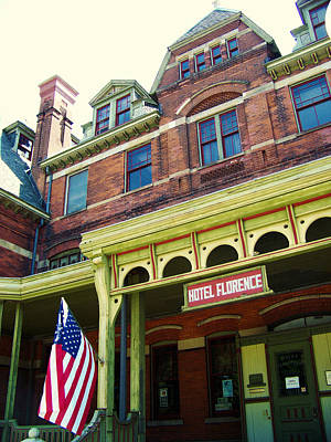 Hotel Florence Pullman National Monument Art Print