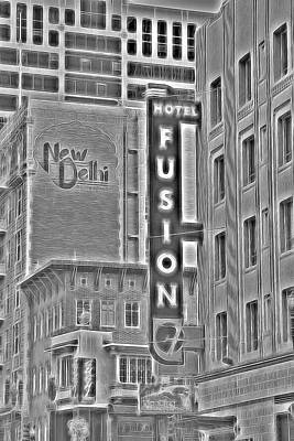 Mellow Yellow Rights Managed Images - Hotel Fusion Royalty-Free Image by Michael Moriarty