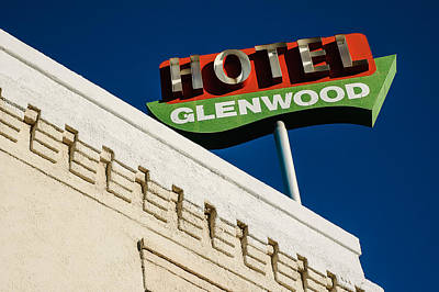Photograph - Hotel Glenwood Tucson Arizona By Gene Martin by David Smith