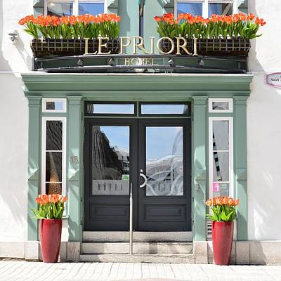 Photograph - Hotel Le Priori by KJ Swan