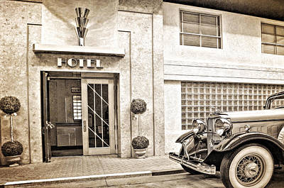 Photograph - Hotel by Maria Coulson