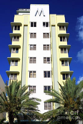 Photograph - Hotel Marseilles Colors South Beach by John Rizzuto