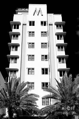 Photograph - Hotel Marseilles Miami Beach by John Rizzuto