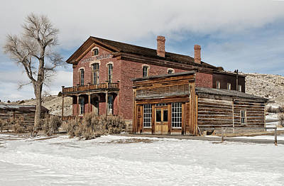 Photograph - Hotel Meade And Saloon by Scott Read