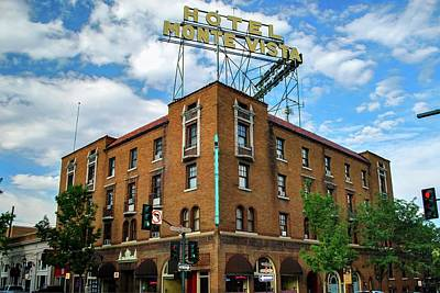 Photograph - Hotel Monte Vista - Flagstaff - Arizona by Gregory Ballos