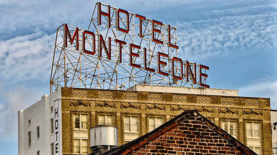 Crescent City Digital Art - Hotel Monteleone - New Orleans by Bill Cannon